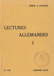 Lectures allemandes